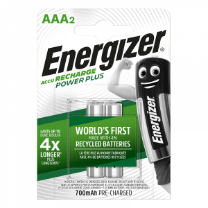 Energizer AAA/HR03 akud 700 mAh, 2 tk/bl