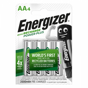 Energizer Аккумулятор AA/HR6 2000 mAh 4 шт