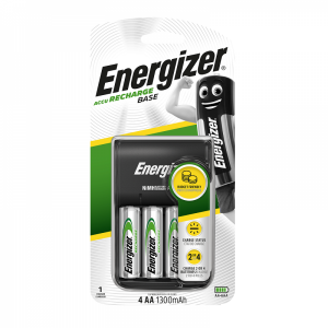 Energizer Base laadija + 4AA 1300 mAh