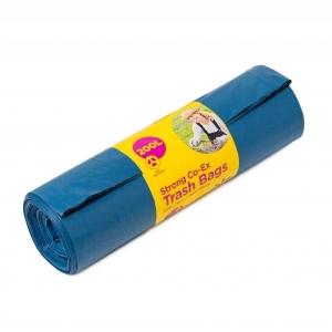 McLean-Home Прочный мусорный мешок 200л, 5шт/рулон