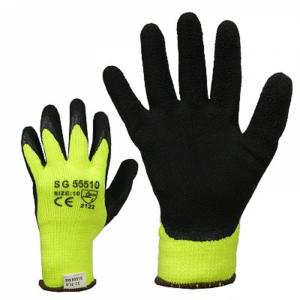 McLean Структурированные латексные тканые рабочие перчатки с термоподкладкой, L