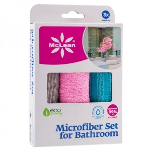 Mclean, 3-Pack microfiber cleaning cloths