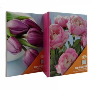 Elise, Maxi-mini valokuva-albumi, Flower, 100 valokuvalle