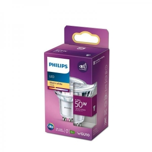 Philips LED lamp GU10 5W 355lm 36D 827 15000h