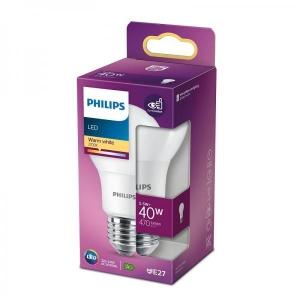 Philips LED lamp A60 5,5W E27 470lm 827 15000h matte