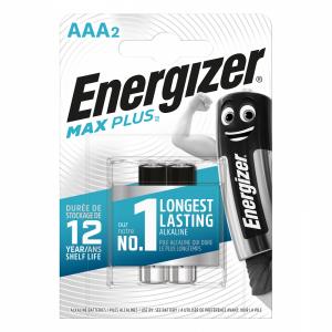 Energizer AAA (LR03) Max Plus alkalie battery, 2 pcs/bl