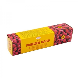 Elise freezer bags, 2L, 75 pcs/roll
