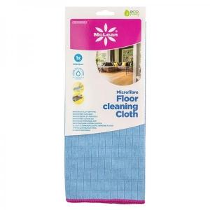 McLean-Prof. mikrokiust ruuduline põrandalapp 50x60cm, sinine, 1tk, etiketiga