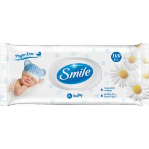 Smile niisked salvrätikud beebidele, kummel ja aaloe, 100 tk