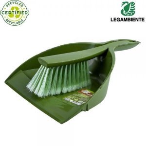 Ecological dustpan and brush set