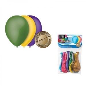 Balloonia õhupallid 10tk/pk, diam 24cm, metallikvärvid