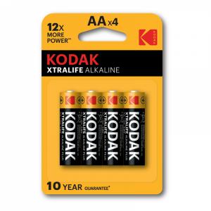 Kodak XTRALIFE alkaline AA patareid 4tk