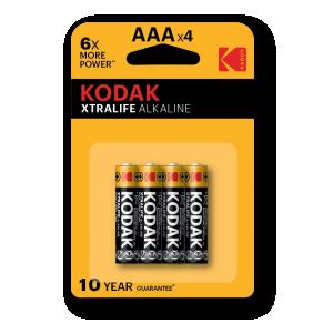 Kodak XTRALIFE alkaline battery AAA 4pcs