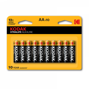 Щелочная батарейка AA, 10 шт/уп