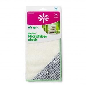 McLean Bamboo microfiber cloth 25x25cm 1pcs