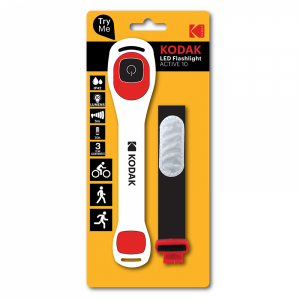 Фонарь Kodak LED Sport Active 10lm, 1шт