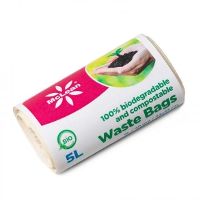 McLean Биоразлагающийся мешок для мусора, 5л, 20шт/рулон
