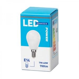 LED lamppu P45, E14 806lm