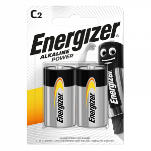 Energizer C (LR14) Power alk.battery, 2 pcs/bl