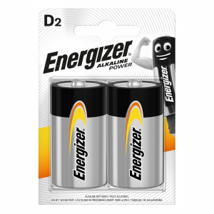 Energizer D (LR20) Power leelispatarei, 2 tk/bl