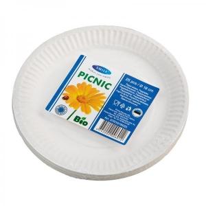 Smile Бумажные тарелки, 18 см, 25 шт