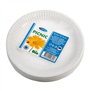 Smile Бумажные тарелки, 18 см, 50 шт