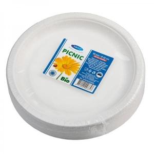 Smile Бумажные тарелки особо прочные, 22 см, 50 шт