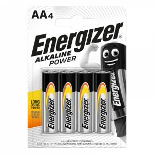 Energizer Щелочная батарейка AEnergizerA (LR6) Power, 4 шт/уп