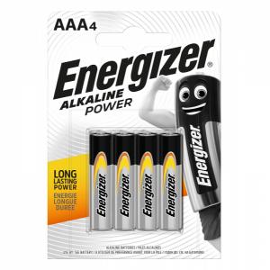 Energizer, AAA (LR03) Power, alkaliparisto, 4kpl