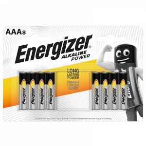 Energizer AAA (LR03) Power leelispatarei, 8 tk/bl