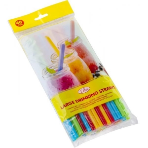 Elise Drinking straws 40 pcs, Ø 8mm, mixed colors