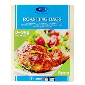 Smile roasting bags 25 x 38 cm, 8 pcs