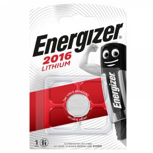 Energizer CR2016 lithium battery, 3,0V