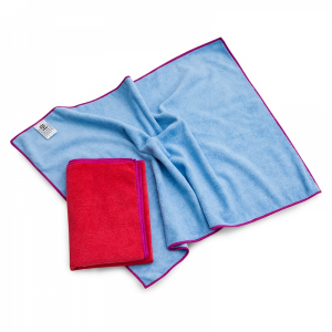 McLean-Prof. microfiber cloth BLUE 50x70 cm, 1 pcs