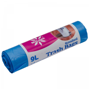 McLean Plastic garbage bags HD 9 litres, 50 pcs/roll