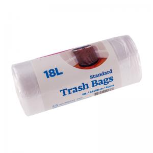 McLean Мусорные мешки прозрачные HD 18л, 40 шт/рулон