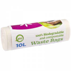 McLean Food Waste Bags, 10L, 10pcs/roll