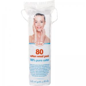 Elise round make-up pads, 80 pcs