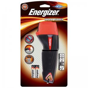 Energizer Большой резиновый фонарик Impact+2AA