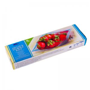 Smile Пластиковые пакеты с застежкой 3л, 26x27см, 15 шт