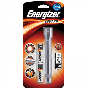 Energizer small metal light 2xAA