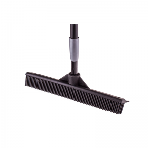 McLean-Prof rubber floor brush with telescopic rubber handle