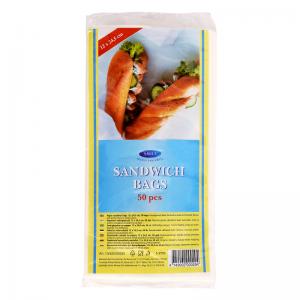 Smile Paper sandwich bags 12x+7x23cm, 50pcs