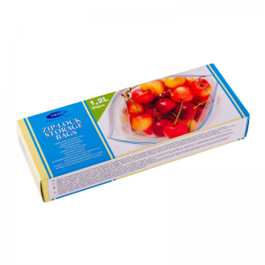 Smile Герметизируемые пакеты для хранения, 1,2 л, 20,5x21 см, 20 шт