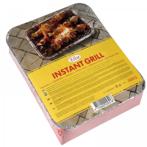 Elise instant grill, 22x27cm, charcoal ca 500g