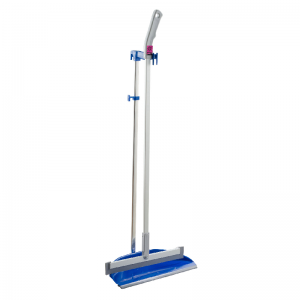 McLean-Prof. sweeper-wiper set with dustpan 35cm, W-rubber blade