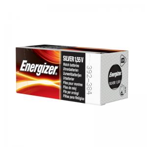 Energizer, hopeaoksidi, kellonparisto, 392/384