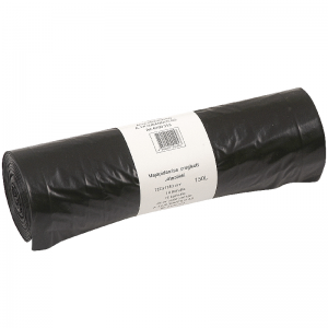 Discounter garbage bags 150 litres, 10 pcs/roll