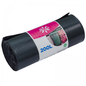 McLean Plastic garbage bags LD 200 litres,820x1250, 10 pcs/roll