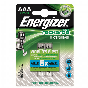 Energizer rechargeable AAA/HR03 800mAh, 2 pcs/bl